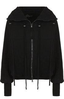 Хлопковая куртка с воротником-стойкой Roque
