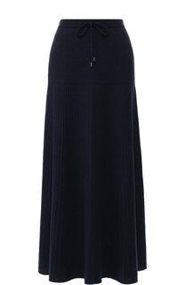 Кашемировая юбка-миди с эластичным поясом Loro Piana