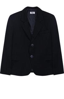 Однотонный пиджак на двух пуговицах Aletta