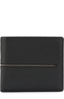 Кожаное портмоне с отделениями для кредитных карт и монет Tod's Tods