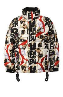 Утепленная куртка Tissington PR на молнии с воротником-стойкой Burberry