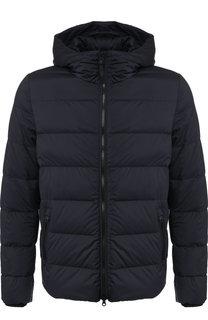 Пуховая куртка на молнии с капюшоном Woolrich