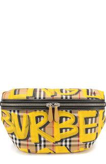 Поясная сумка в клетку Vintage Check Burberry