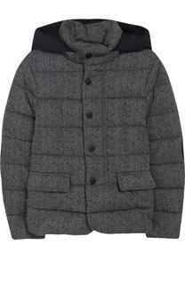 Стеганая куртка с капюшоном Herno