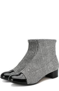 Текстильные ботинки с кожаной отделкой Missouri