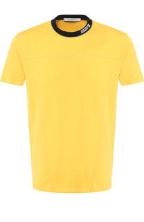 Хлопковая футболка с круглым вырезом Givenchy