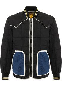 Стеганая куртка на молнии с воротником-стойкой Givenchy