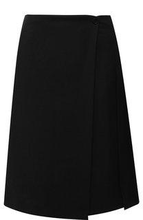 Шерстяная юбка со складками Burberry
