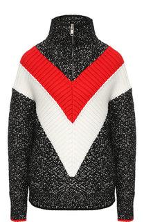 Пуловер из смеси шерсти и хлопка Givenchy