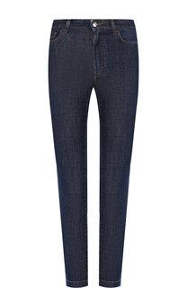 Укороченные джинсы с потертостями Dolce & Gabbana