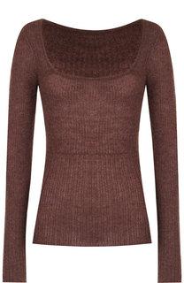 Вязаный пуловер с квадратным вырезом Jacquemus