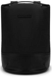 Текстильный рюкзак на молнии Emporio Armani