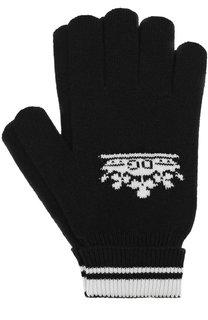 Кашемировые вязаные перчатки Dolce & Gabbana
