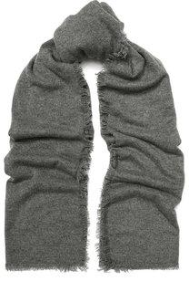 Кашемировый шарф с необработанным краем Balmuir