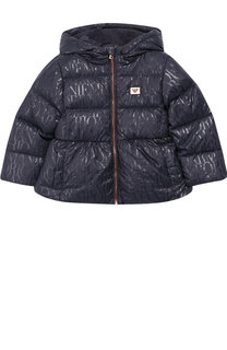 Утепленная куртка на молнии с капюшоном Emporio Armani