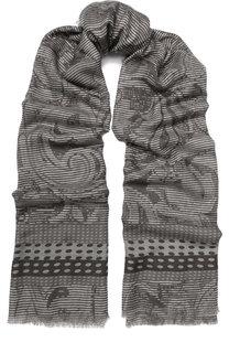 Кашемировый шарф с принтом Franco Ferrari