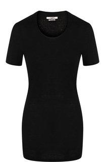 Льняная футболка с круглым вырезом Isabel Marant Etoile