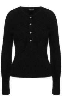 Однотонный пуловер с круглым вырезом Tom Ford