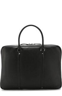 Кожаная сумка для ноутбука Rockstud с плечевым ремнем Valentino