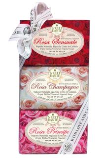 """Набор мыла """"rosa gift kit"""" Nesti Dante"""