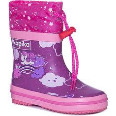 Резиновые сапоги Kapika для девочки