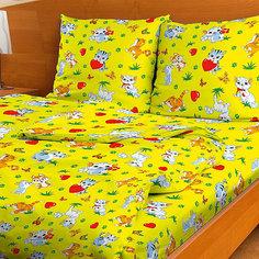 Детское постельное белье 1,5 сп. Letto,Мурзик