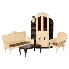 """Мебель для куклы Огонёк """"Коллекция"""" Гостиная ОГОНЕК."""