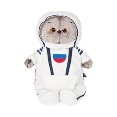 Мягкая игрушка Budi Basa Кот Басик в костюме космонавта, 25 см