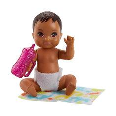 "Мини-кукла Barbie ""Ребенок"" с тёмными волосами Mattel"