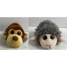 "Мягкая игрушка Teddy ""Перевертыши"" Обезьяна-Овца, 16 см"