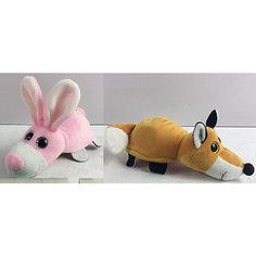 """Мягкая игрушка Teddy """"Перевертыши"""" Лиса-Заяц, 16 см"""