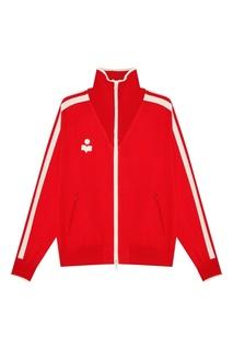 Красная олимпийка с логотипом Darcey Isabel Marant Etoile