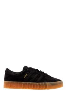 Черные кожаные кроссовки SAMBAROSE W Adidas