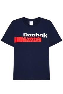 Футболка с контрастным логотипом Reebok