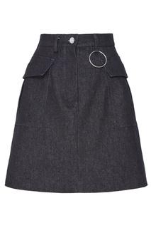 Черная юбка с карманами Artem Krivda