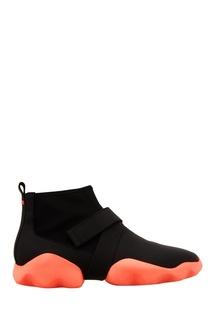 Черные ботинки с контрастной подошвой Camper
