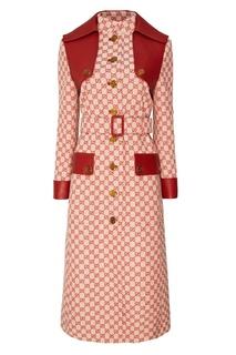 Пальто с монограммами Gucci