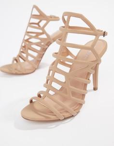 Босоножки на каблуке Madden Girl - Бежевый