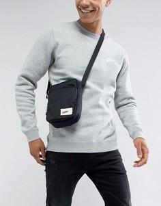 8176eabd47d0 Черная сумка через плечо Nike Heritage BA5809-010 - Черный