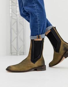 Золотистые ботинки челси Free People - Золотой