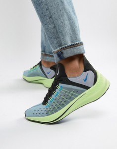 Синие кроссовки Nike Future Fast Racer AO1554-400 - Синий