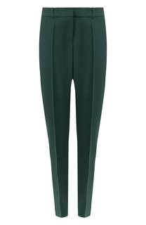 Шерстяные брюки со стрелками BOSS