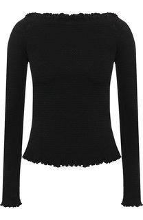 Вязаный пуловер с открытыми плечами Altuzarra