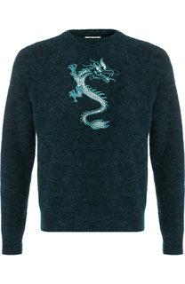 Шерстяной свитер с круглым вырезом Kenzo