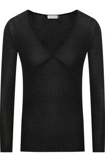 Пуловер с V-образным вырезом и металлизированной нитью Altuzarra
