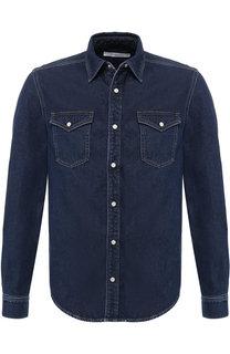 Джинсовая рубашка на кнопках Givenchy