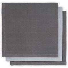 Салфетки для лица Jollein, 3 шт (Серый)