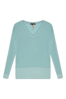 Однотонный пуловер Adolfo Dominguez
