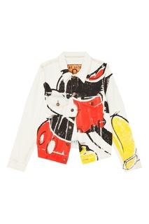 Джинсовая куртка с принтом Marc Jacobs