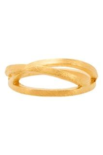 Позолоченное кольцо с объемным дизайном Joidart Barcelona